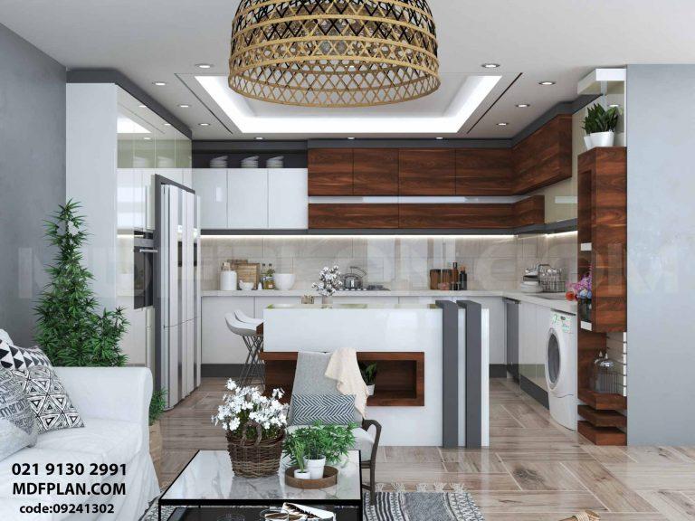 آشپزخانه سه رنگ