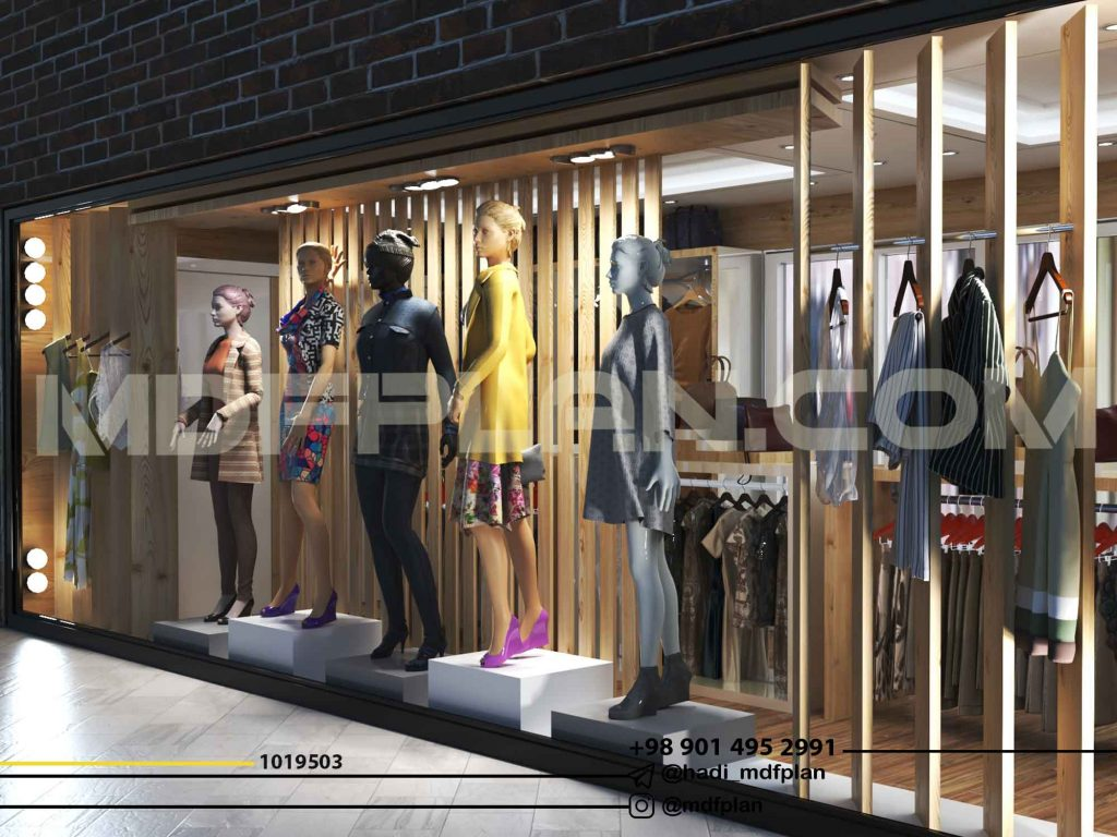 طراحی ویترین فروشگاه