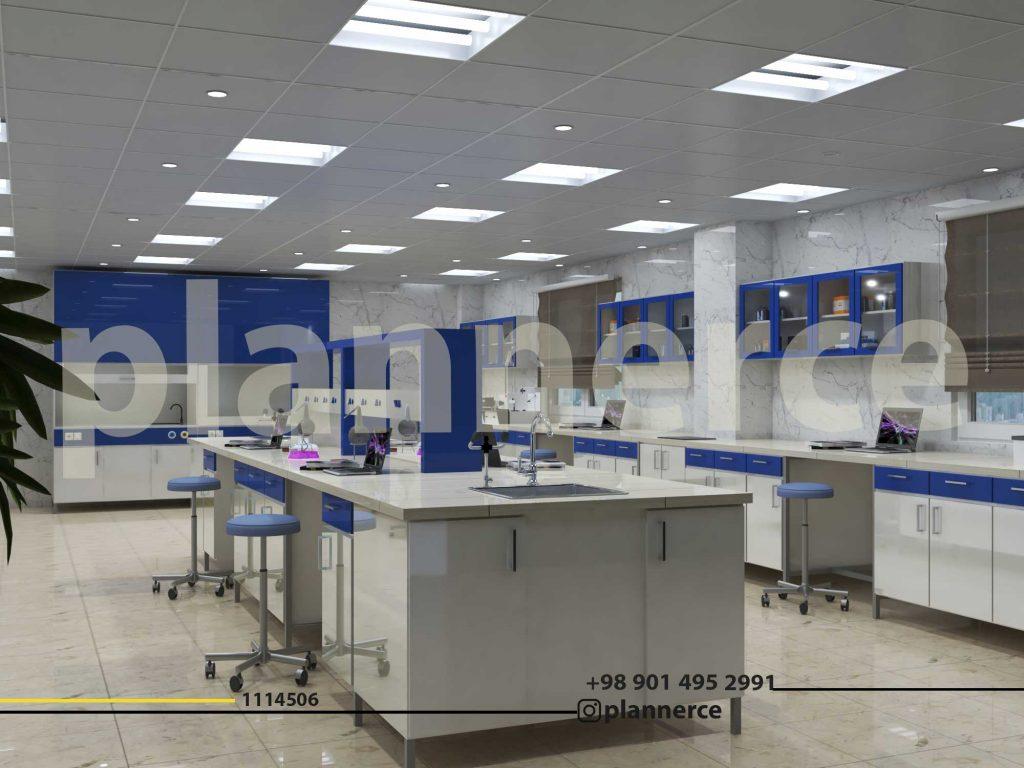 طراحی آزمایشگاه