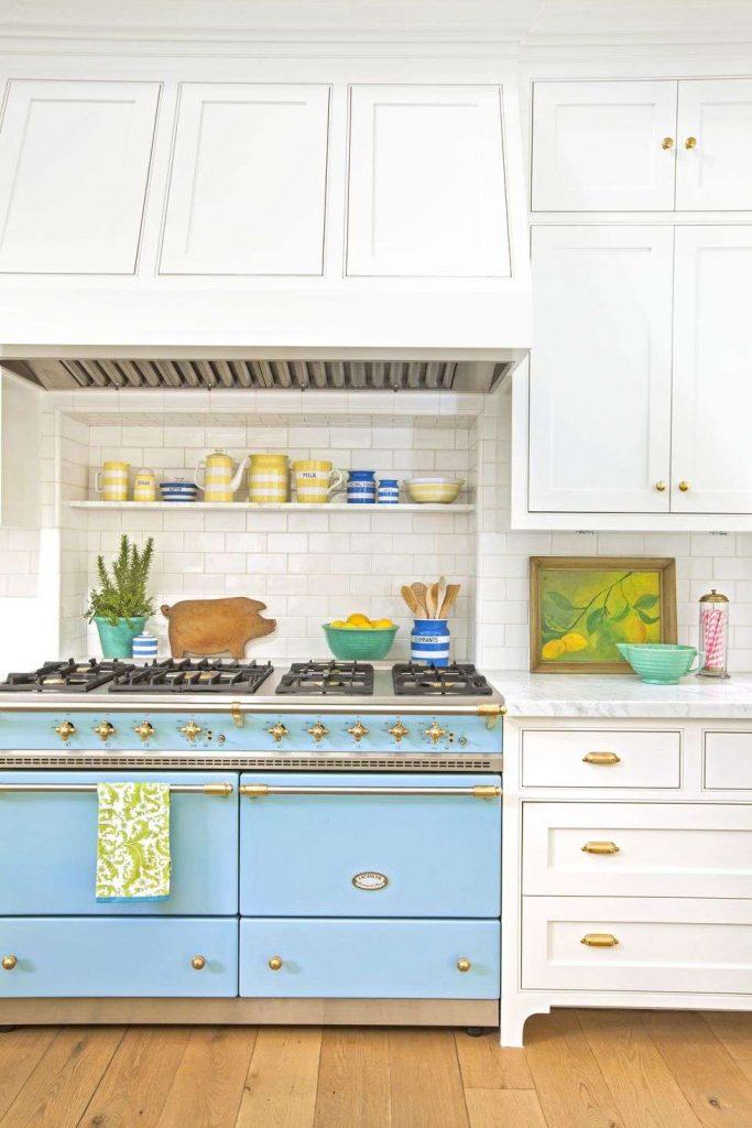 آشپزخانه رنگی