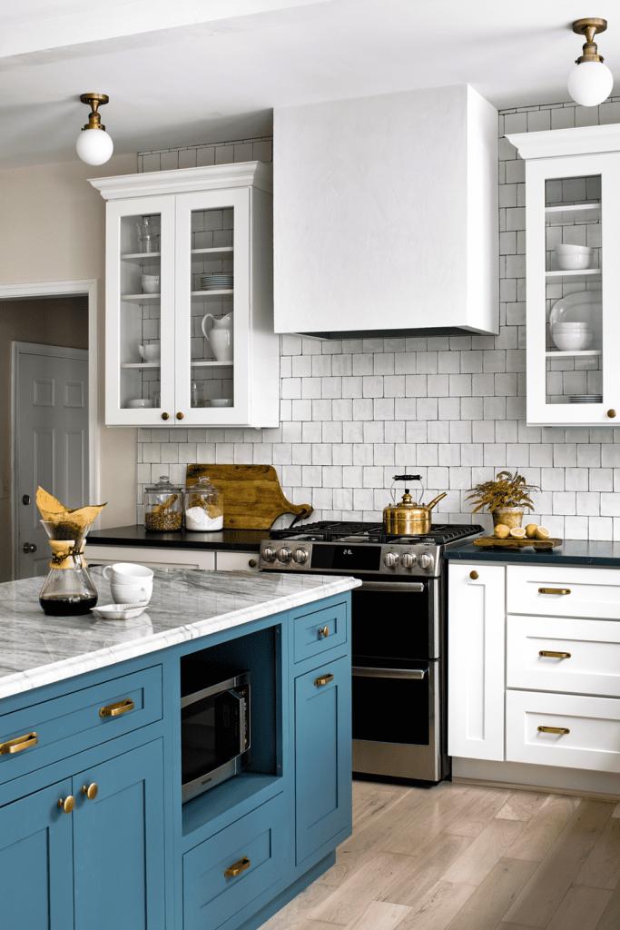 جزیره رنگی آشپزخانه