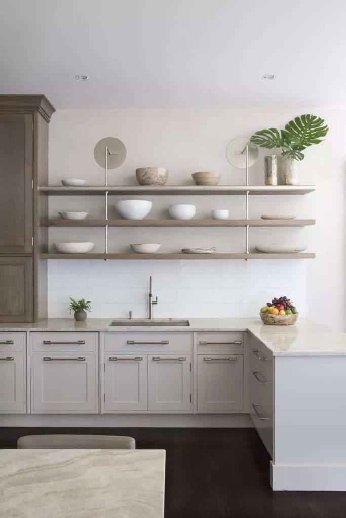 ذخیره در انبار از اصول طراحی آشپزخانه