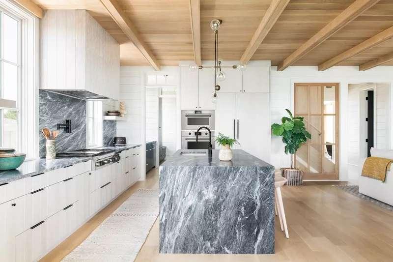 انتخاب رنگ مورد علاقه از اصول طراحی آشپزخانه