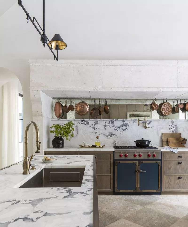 استفاده از سنگ مرمر در آشپزخانه
