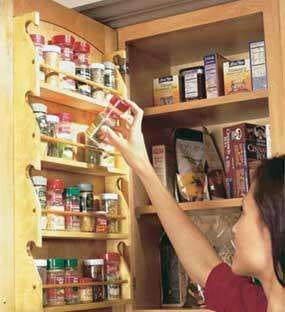فضای ذخیره سازی آشپزخانه