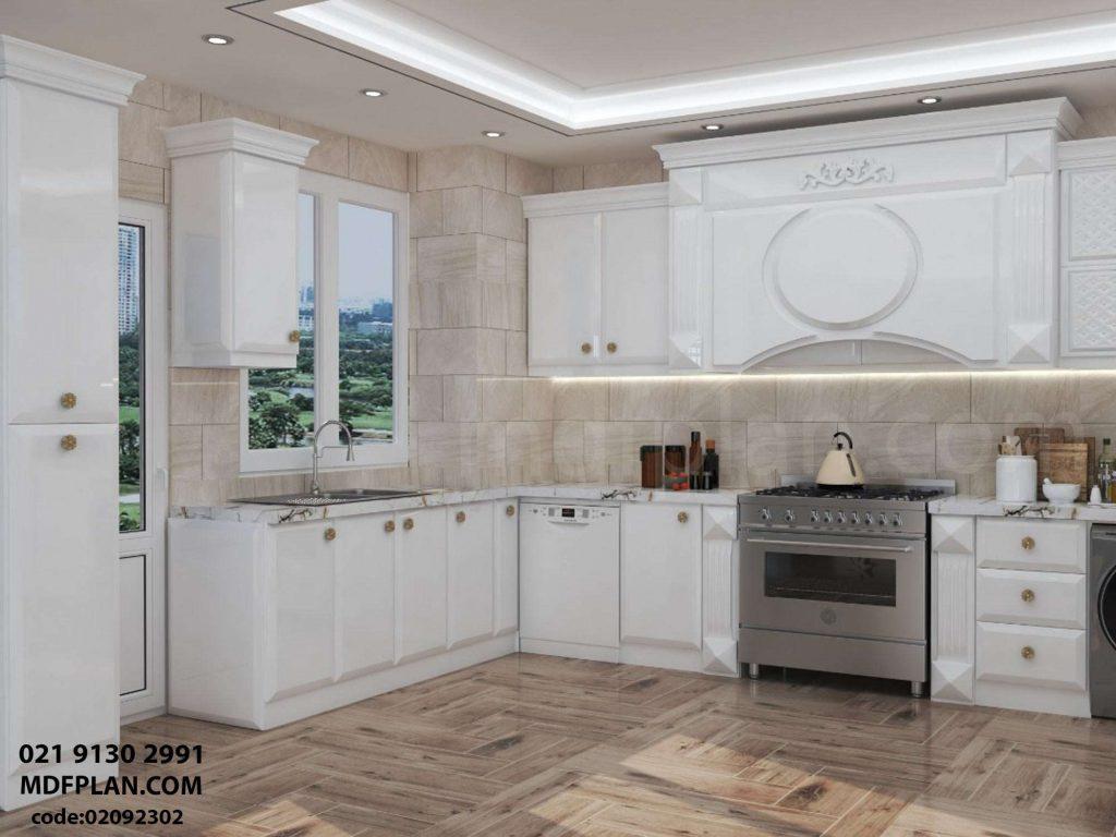 کابینت آشپزخانه انزو