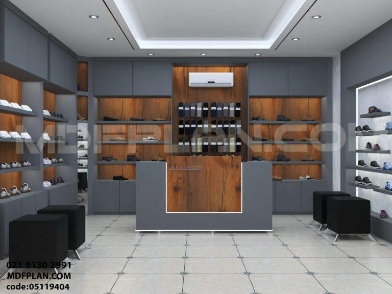 دکور مغازه کفش فروشی
