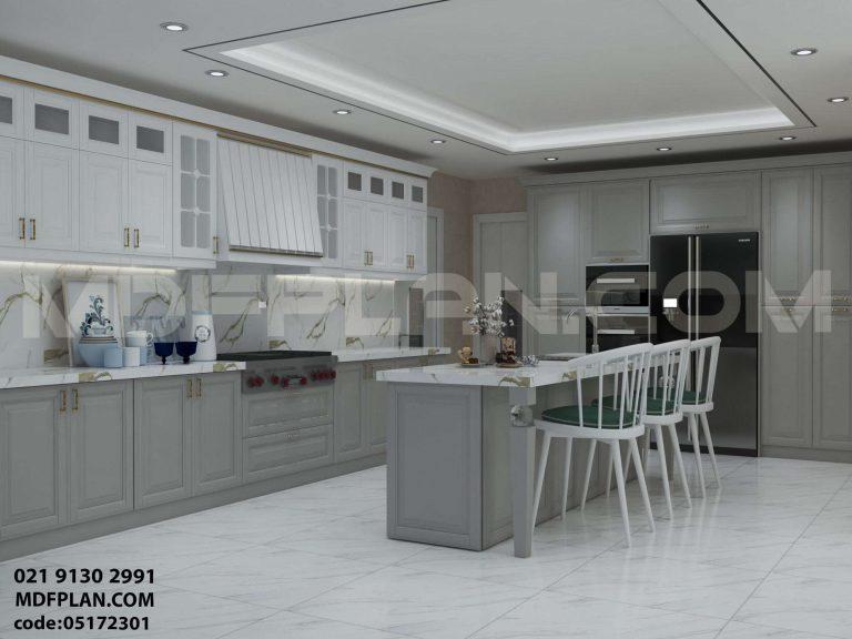 آشپزخانه سبک نئوکلاسیک