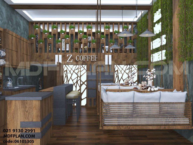 طراح داخلی کافه