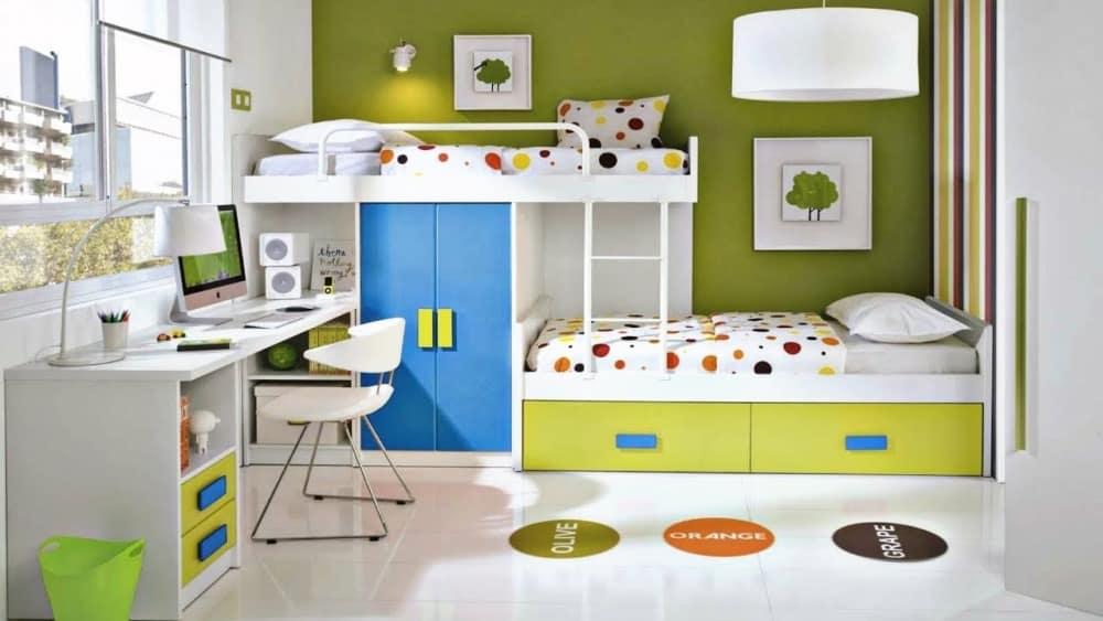 چیدمان اتاق کودک متناسب با سن