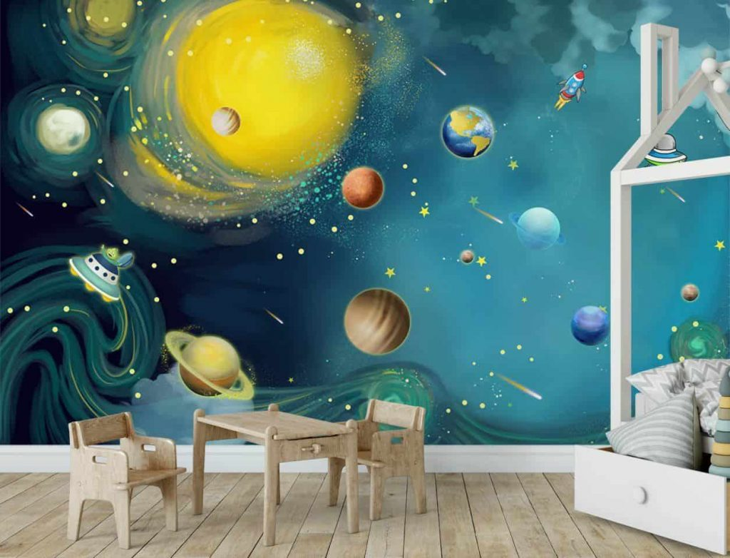 رنگ در دکوراسیون اتاق کودک